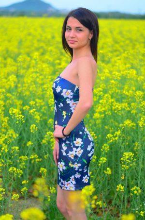 лятна рокля тип бюстие
