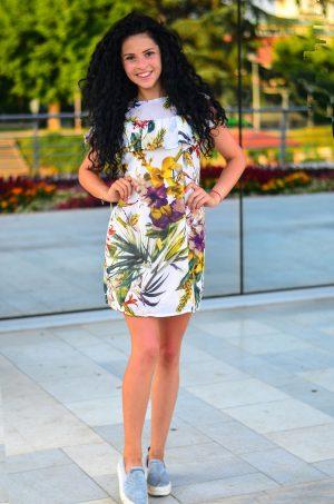 Къса лятна рокля Дария